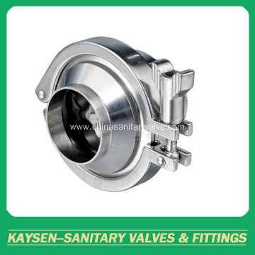3A Hygienic Sanitary Check Valves Weld End